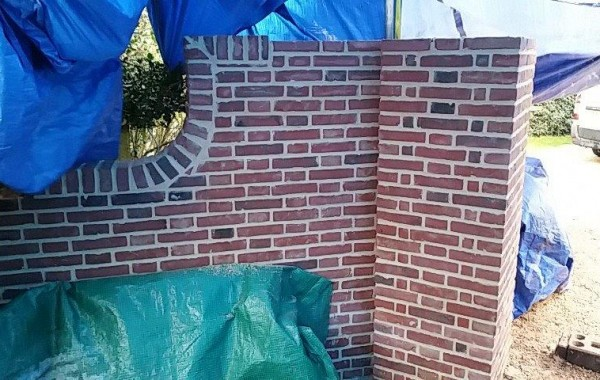 Rebuilding an 18th Century Wall