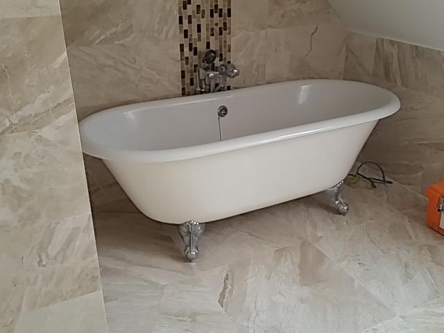 Plumbing leak leads to a bathroom refurbishment