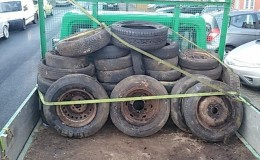 2. The tyre pile