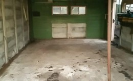 4. The fulloy cleared outbuilding