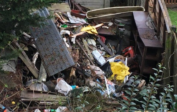 Property clearance proves a challenge!