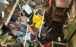 6. Plenty of scrap metal